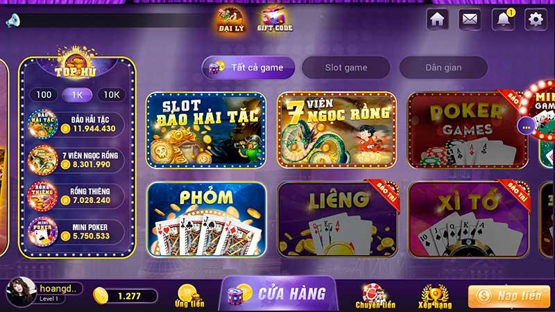 Các cổng game đánh bài đổi thưởng online với nhiều trò chơi hấp dẫn