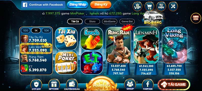 B79 Club - Game bài đổi thưởng phong phú đa dạng