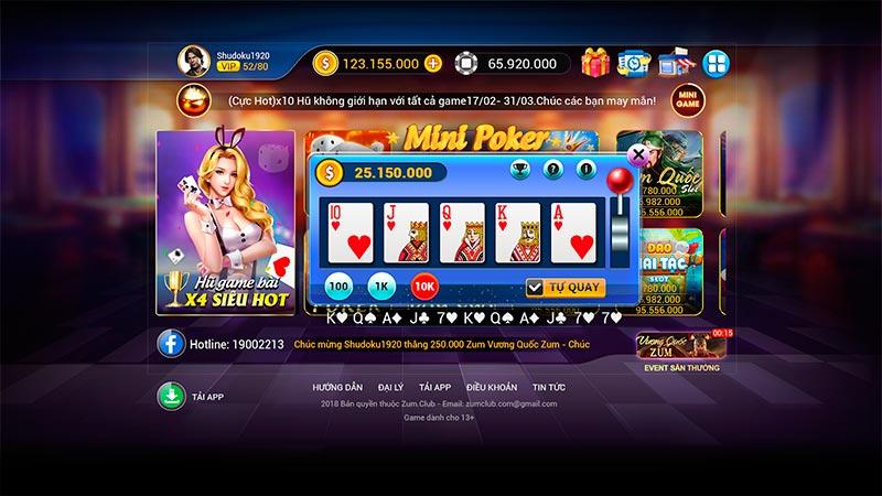 Bật mí top 4 cách chơi Mini Poker kiếm tiền hiệu quả cho các tín đồ chơi Gameslot