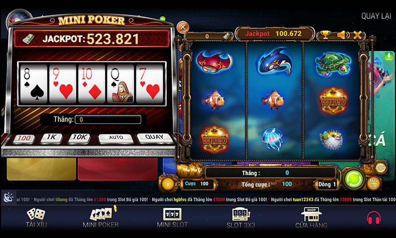 Game Mini Poker hấp dẫn dân chơi game bài đổi thưởng khắp nơi