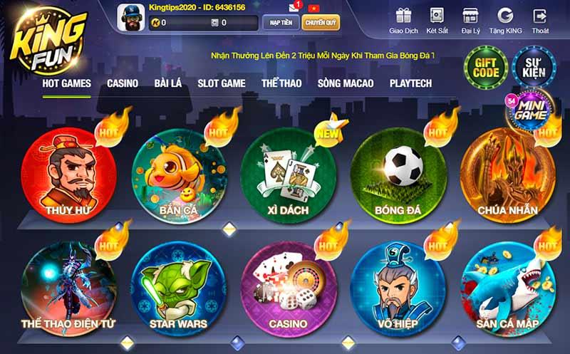 Kho game bài online hấp dẫn và độc đáo trên thị trường