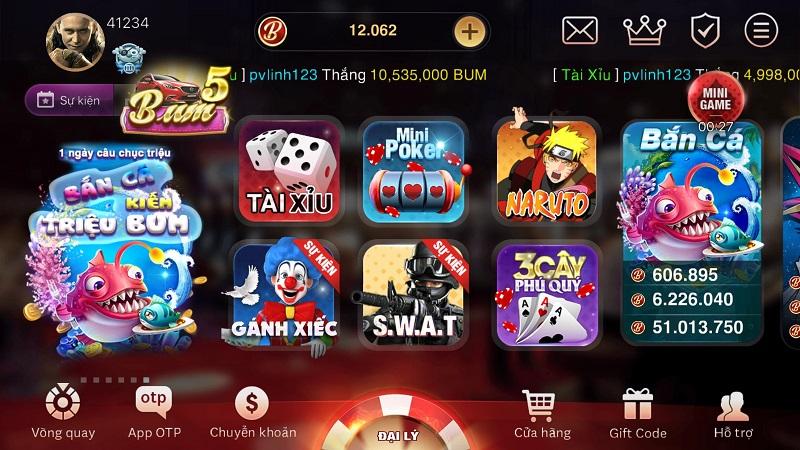 Bum Club   BumVip Club – Làm giàu chớp nhoáng với cổng game bài đổi thưởng chất lượng
