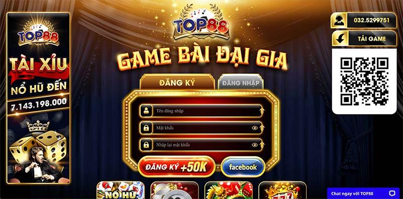 Top88 Fun   Top88 Win   Top88  Club – Nhà cái casino game đánh bài đổi thưởng Đại Gia – Hốt ngay siêu xe nhà lầu