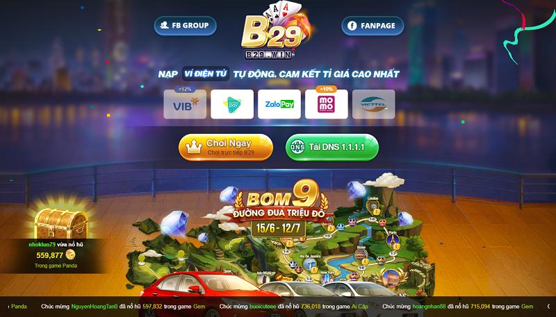 B29 Win | B29 Club – Phiên bản game bài đổi thưởng nâng cấp của huyền thoại B29 Club