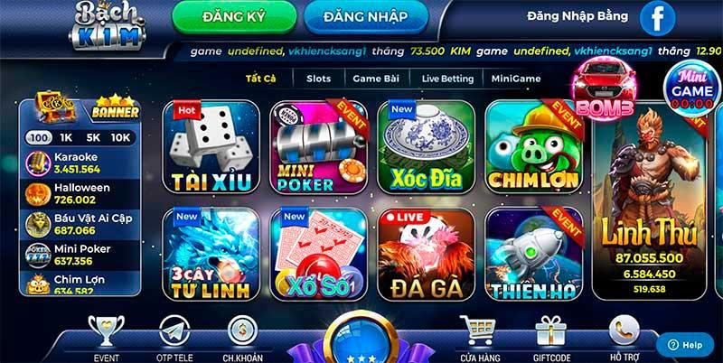 BachKim.Fun | BachKim.Vin - Cổng game bài đổi thưởng Sân Chơi Vương Giả
