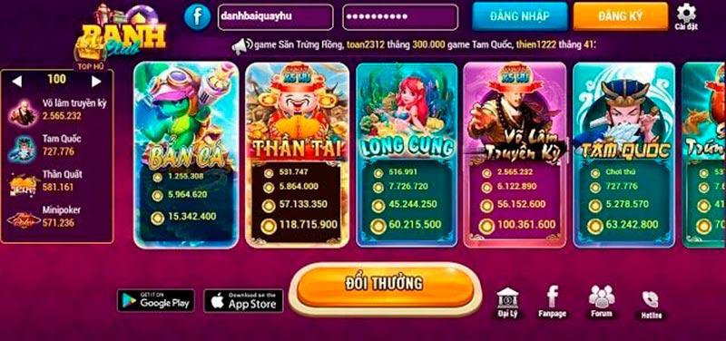 BanhClub – Mở ra thế giới game bài đổi thưởng thu nhỏ đầy màu sắc