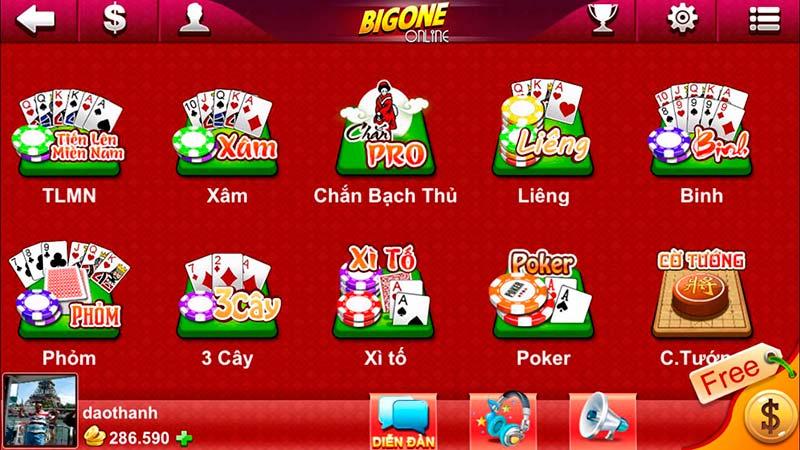 BigOne – Cổng game bài đổi thưởng số 1 mang đẳng cấp quốc tế