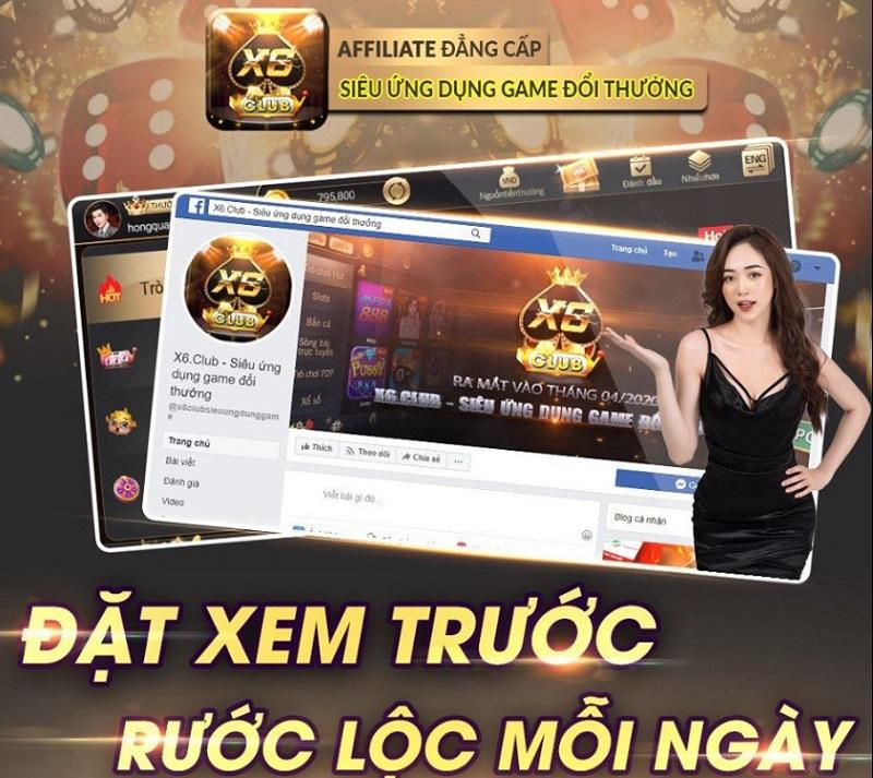 Cơn lốc game bài đổi thưởng X6 Club đổ bộ thị trường Việt