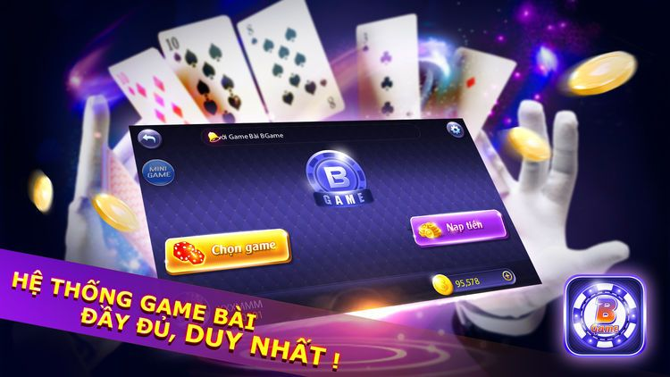 BSG - Game bài đổi thưởng trực tuyến hàng đầu cho Android