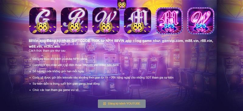 88Vin – Game bài đổi thưởng online quốc tế đã quay trở lại đầy đủ hơn xưa