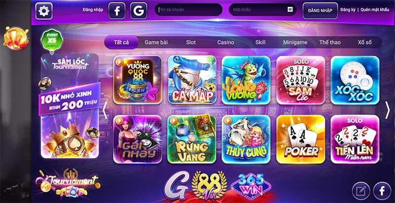 GamVIP - Xứng danh một huyền thoại lão làng của game bài đổi thưởng quốc tế