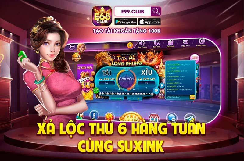 Giftcode game bài E68 Club: Chuyên mục xả Code thứ 6