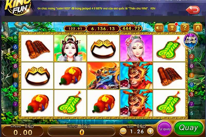 Giftcode game bài King Fun 24/7/2020: Event cấp vốn chơi King