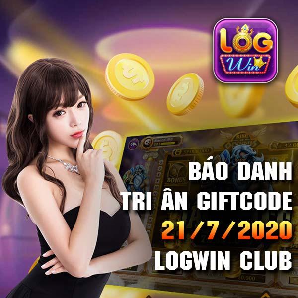 Giftcode game bài LogWin Club 21/7/2020 - Báo danh Tri Ân hằn ngày