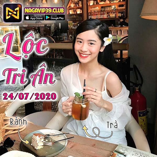 Giftcode game bài NaGaVip Club 24/7/2020: Lộc Tri Ân ngày 24/07