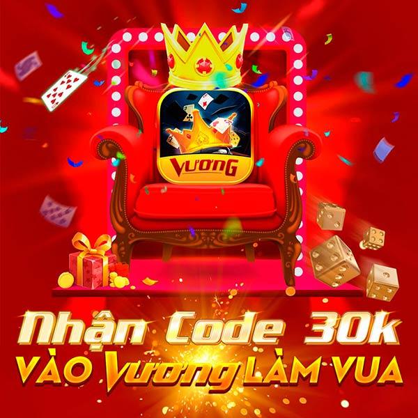 Giftcode game bài Vương Club 22/7/2020: Nhận Code 30k – Vào Vương Làm Vua