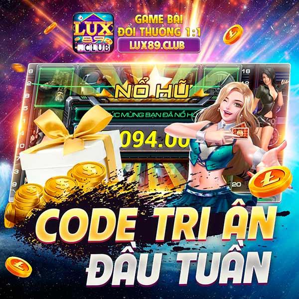 Giftcode game bài LuxClub 21/7/2020 – Món quà Tri Ân đầu tuần cực hot