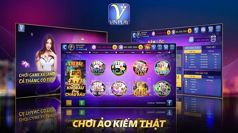 Vinplay – Hệ thống game bài đổi thưởng số 1 Việt Nam nhiều người tham gia nhất