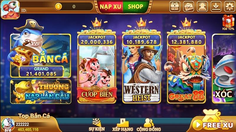 Xu Vàng 777–  Làm giàu không giới hạn với game bắn cá đổi thưởng slots nhiều người chơi nhất