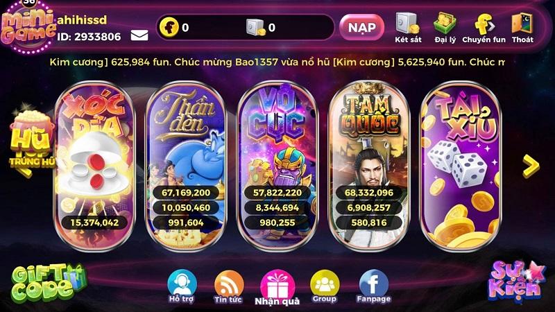12Fun Club – Làm giàu không khó với cổng game bài đổi thưởng uy tín