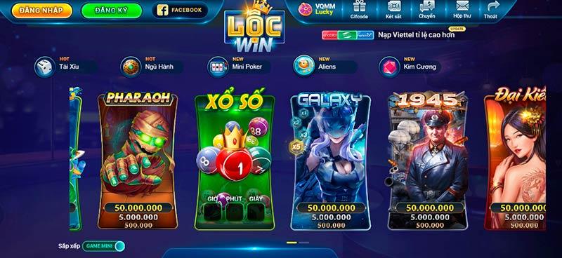 """Lộc Win Club – Cổng game bài đổi thưởng – Chơi là """"win"""" – Lộc về đầy túi"""