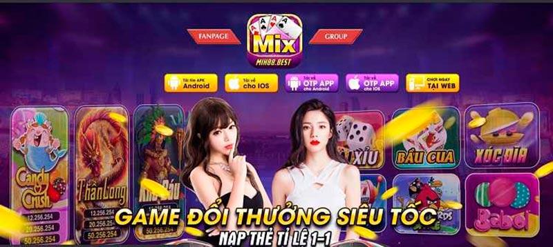 """Mix88 Club – Cổng game đổi thưởng mới nhất, nổ hũ """"đã"""" nhất"""