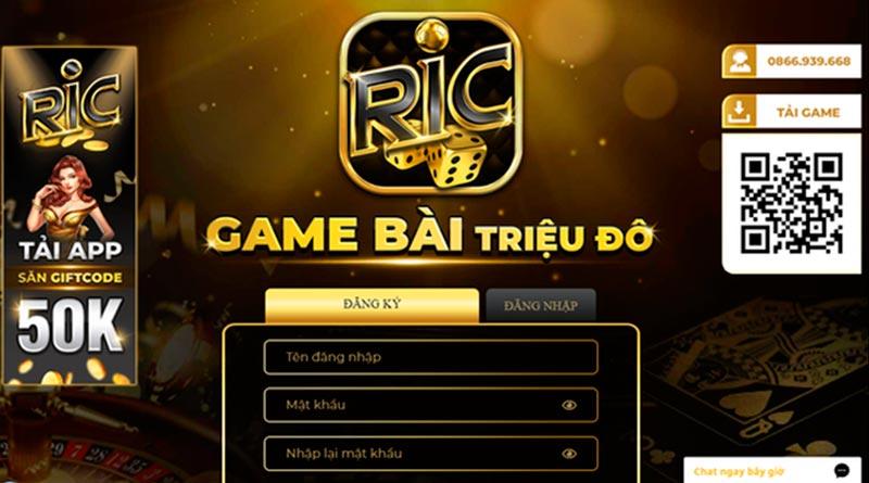 Ric Win – Làm giàu không khó cùng game bài đổi thưởng ấn tượng nhất hiện nay