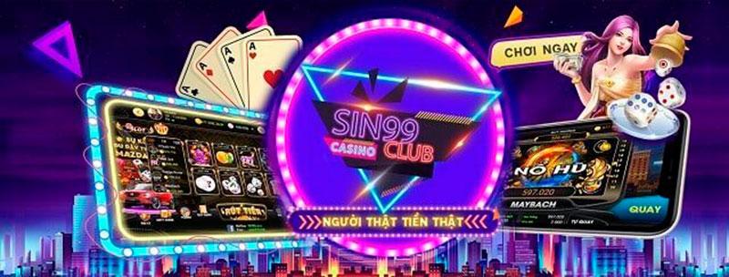 """Sin99 Club - Siêu game bài đổi thưởng thế hệ mới """"chất"""" nhất 2020"""