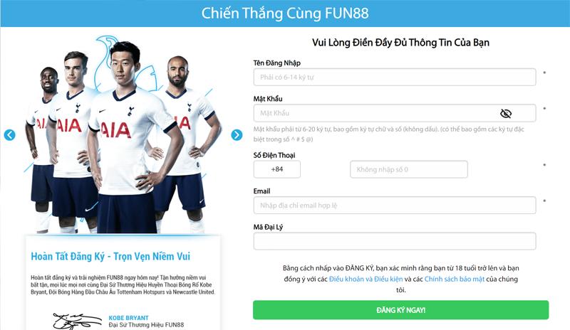 Fun88 – Tham gia trải nghiệm cổng cá cược online hàng đầu