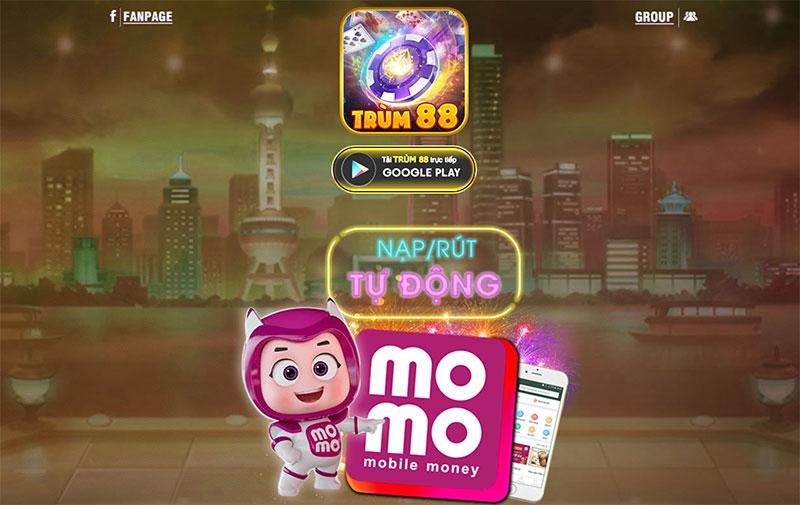 Trum88 Club – Cổng game bài đổi thưởng nổ hũ quốc tế trùm Tài Lộc
