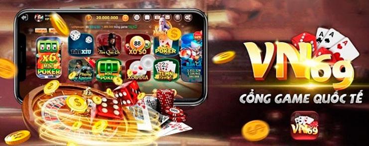 VN69.VIP – Cổng game bài đổi thưởng Xịn sò Uy tín nhất hiện nay