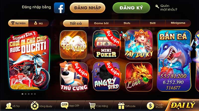 ZinDo Club | Zinvin - Bom tấn game bài đổi thưởng 2020 - Chơi nhỏ giàu to