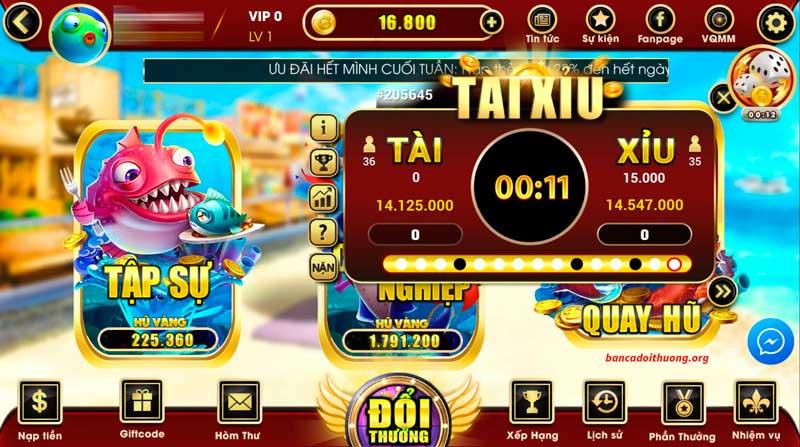Trò chơi game bắn cá đổi thưởng vô cùng đa dạng và hấp dẫn