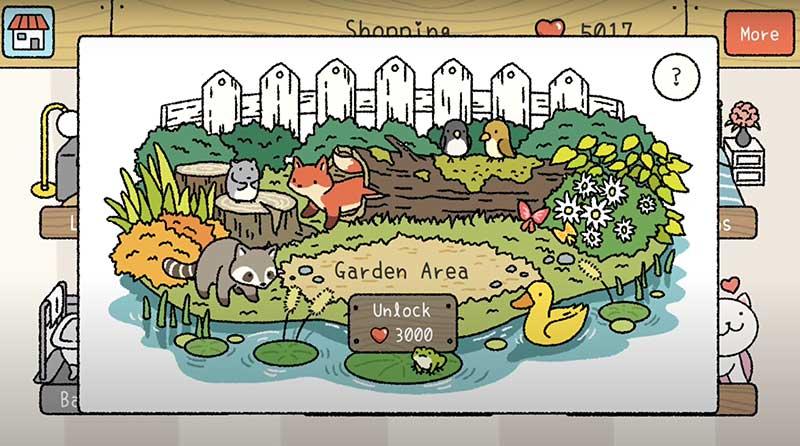 Nên ưu tiên mở Garden trước khi mở Bedroom