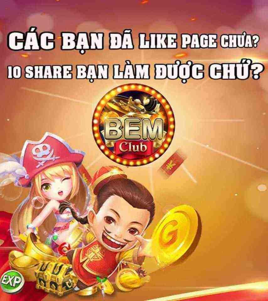 Bem Club giftcode game 24/8/2020: Tương tác Fanpage nhận Code lộc