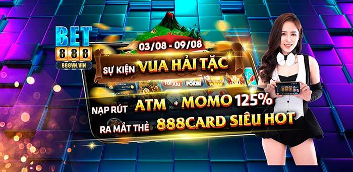 Giftcode game bài Bet888 Club 3/8/2020: Đua Top Hải Tặc – Chơi Là Lên Top
