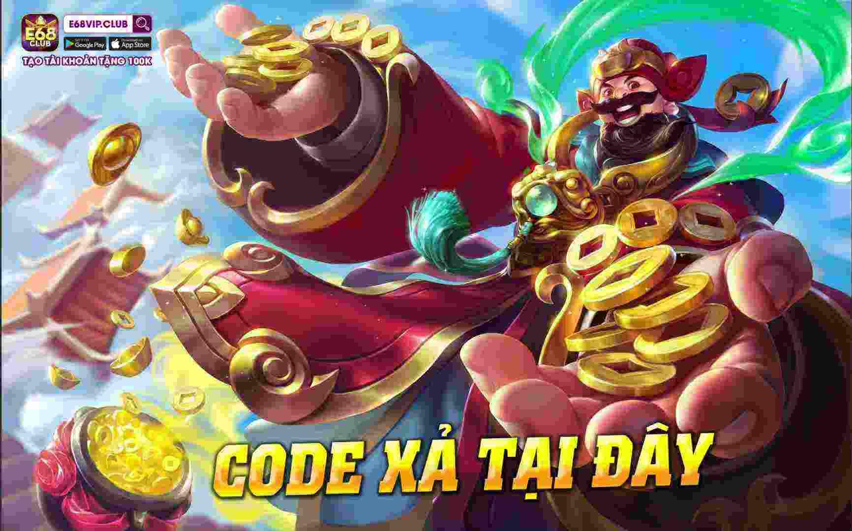 Giftcode game bài E68 Club 12/8/2020: Post này xả Code cho anh em