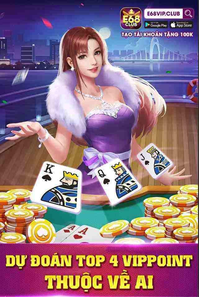 Giftcode game bài E68 Club 9/8/2020: Đoán Top 4- Nhận Code khủng