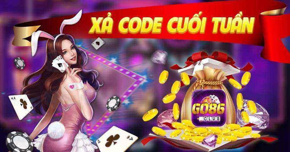 Giftcode game bài Go86 Club 16/8/2020: Xả Code cuối tuần