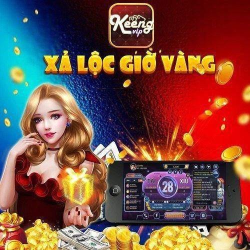 Giftcode game bài Keeng Vip 11/8/2020: Xả Lộc Giờ Vàng