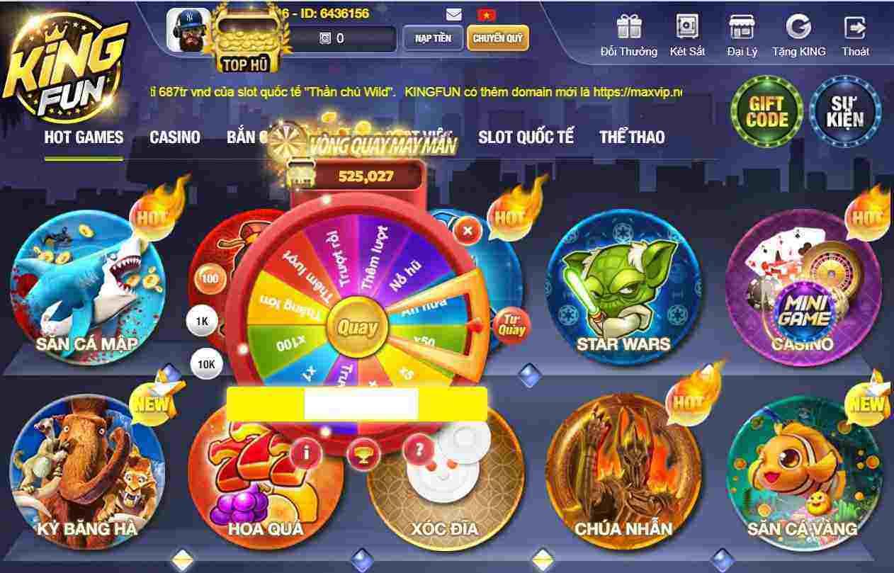 Giftcode game bài King Fun 11/8/2020: Dự đoán đúng – Trúng Code Vip