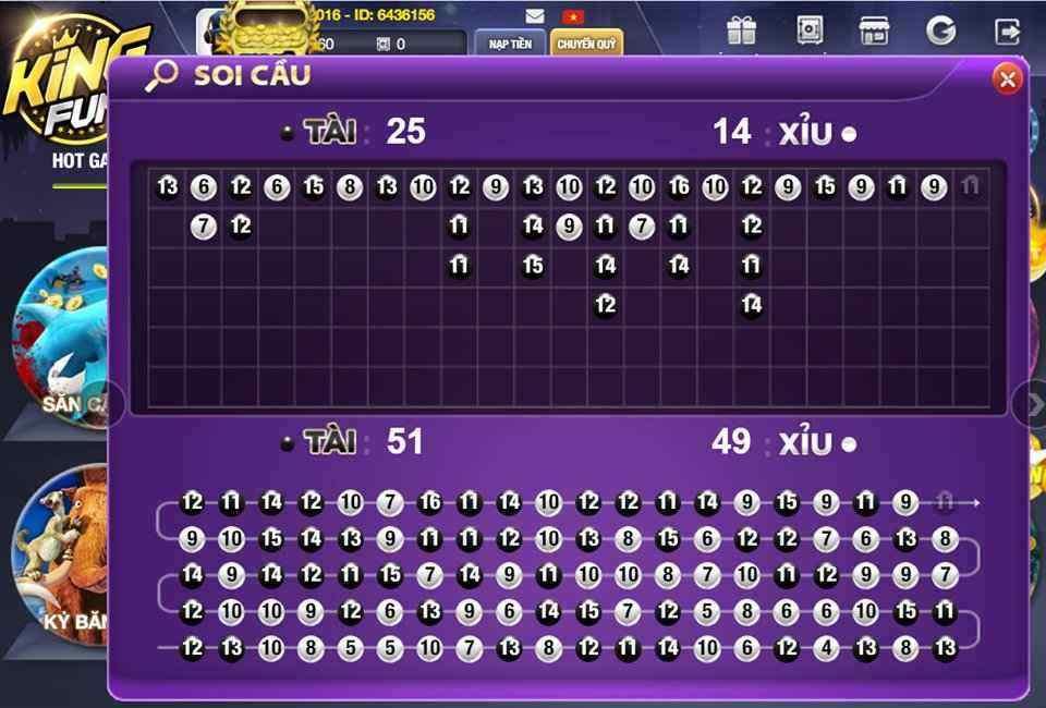 Giftcode game bài King Fun 14/8/2020: Code 50k phát ngẫu nhiên