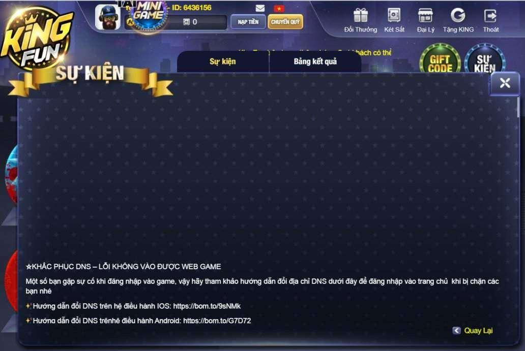 King Fun giftcode game 22/8/2020: Tán Lộc cực mạnh – Xả Code cực chất