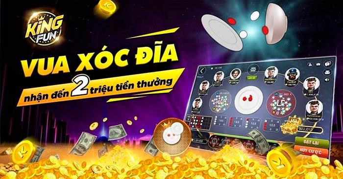 Giftcode game bài King Fun 5/8/2020: Vua Xóc Đĩa tháng 8 – Nhận 2 triệu tiền thưởng