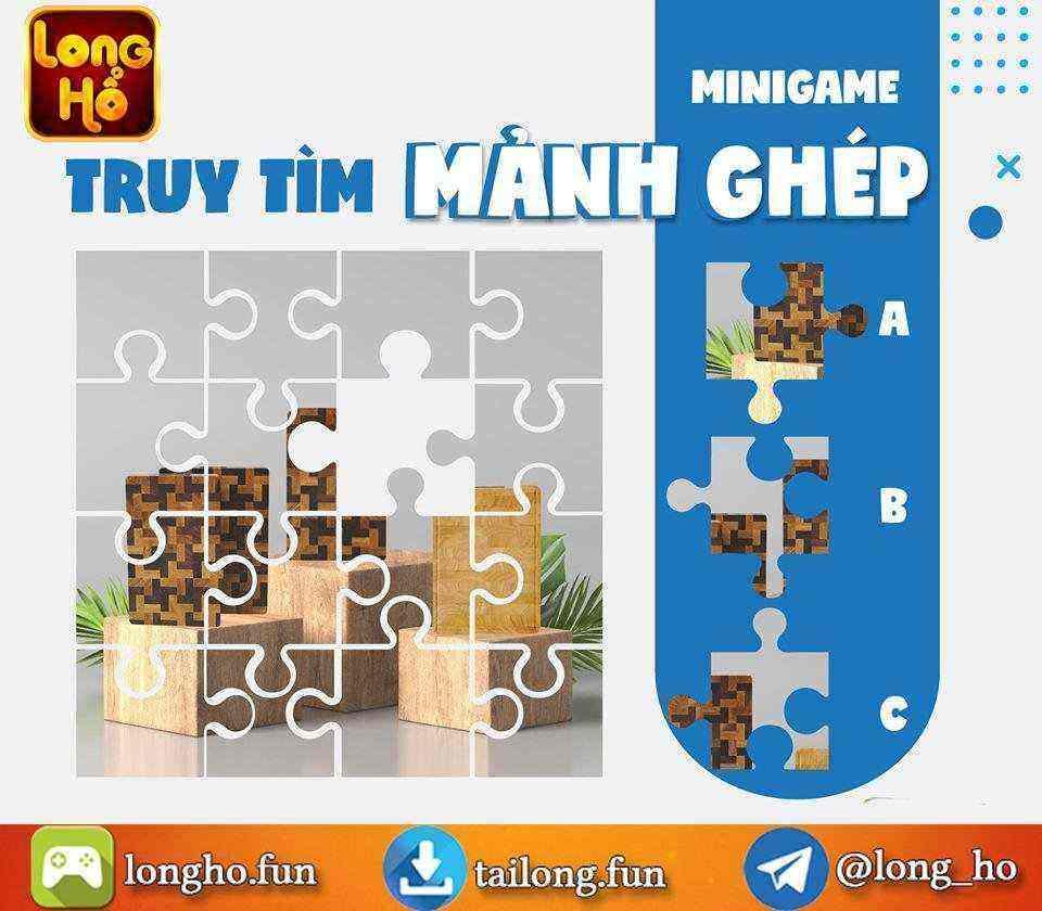 Giftcode game bài Long Hổ Club 8/8/2020: Minigame truy tìm mảnh ghép