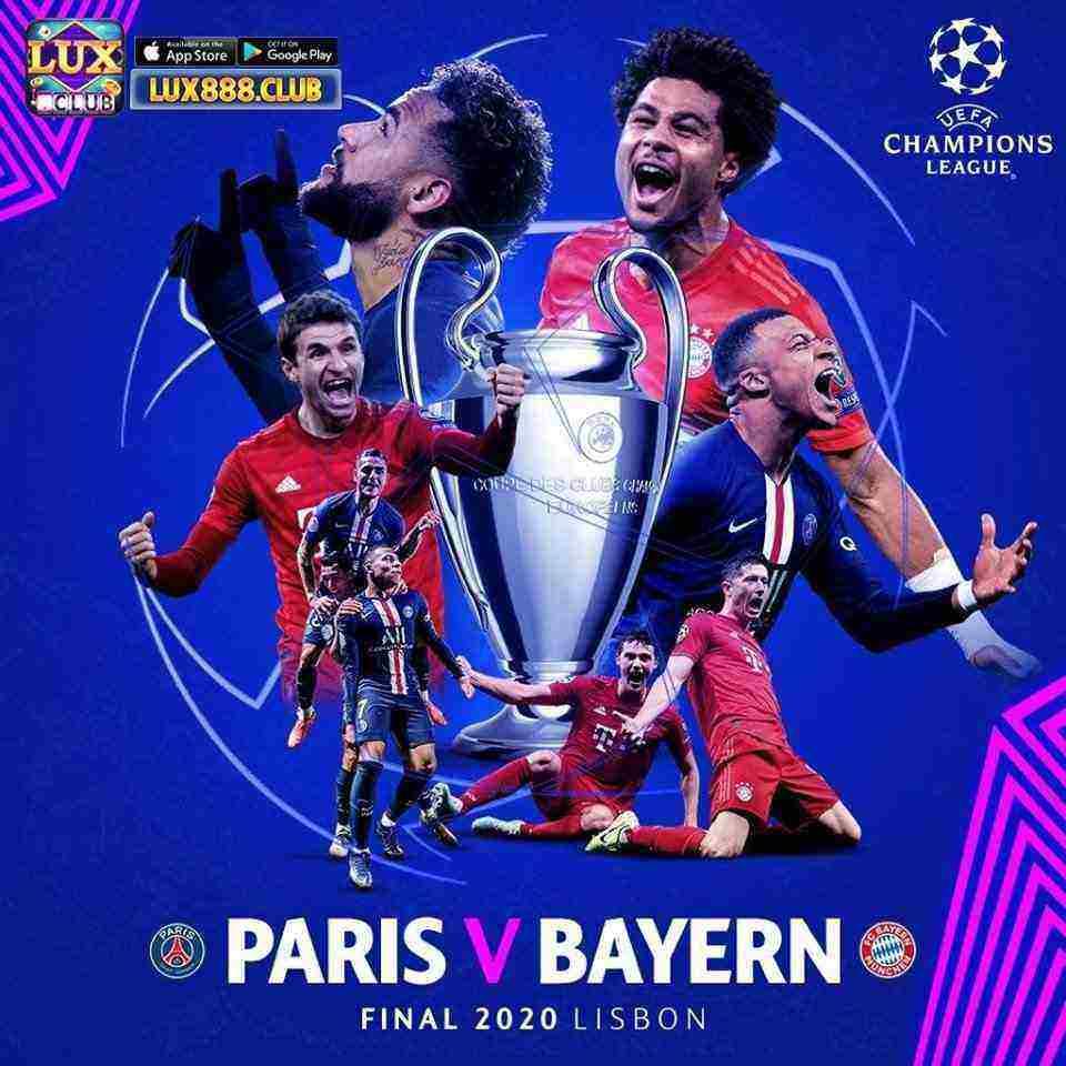 LuxClub giftcode game 23/8/2020: Dự đoán PSG vs Bayern Munich – Nhận lì xì 500k