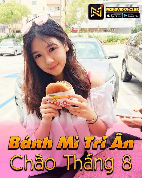 Giftcode game bài NaGaVip Club 1/8/2020: Bánh Mỳ Tri Ân Chào Tháng 8