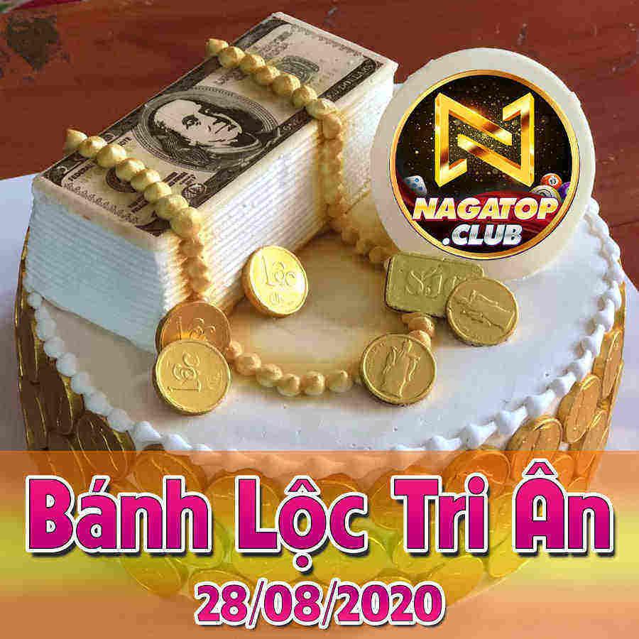 NagaVip Club giftcode game 28/8/2020: Bánh Lộc Tri Ân Ngày 28/08