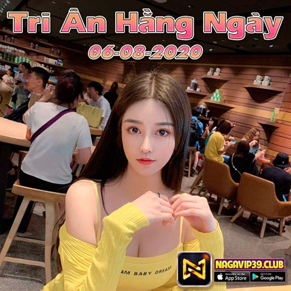 Giftcode game bài NaGaVip Club 6/8/2020: Tri Ân hàng ngày 06/08