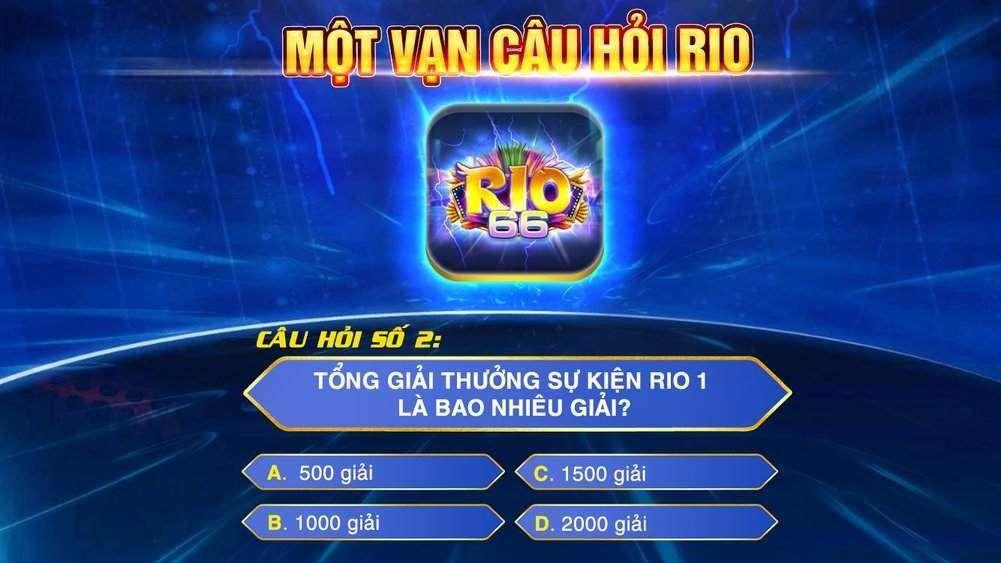 Rio66 Club giftcode game 24/8/2020: Trả lời câu hỏi – Nhận Code 50k